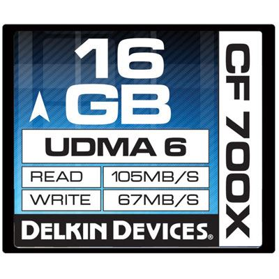 Delkin 16GB 700X UDMA 6 Compact Flash
