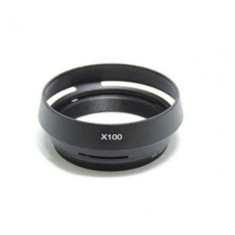 Fujifilm X100 / X100S Lens Hood with Adapter Ring - Black