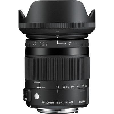 Sigma 18-200mm f3.5-6.3 DC Macro OS HSM Lens - Canon Fit