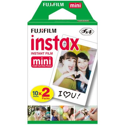 Fujifilm Instax Mini - Twin Pack of 10 (20 prints)