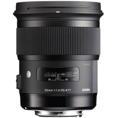 Sigma 50mm f1.4 DG HSM Art - Canon Fit