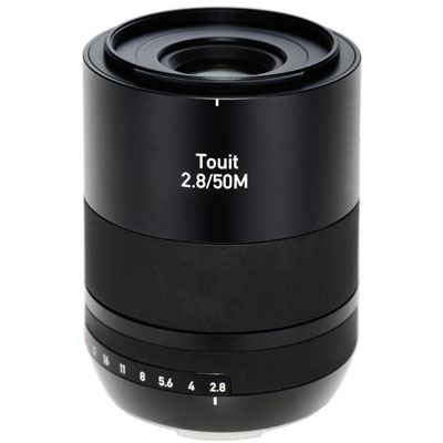 Zeiss 50mm f2.8 E Makro Touit Lens - Sony E-Mount Fit