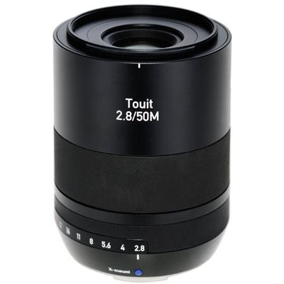 Zeiss 50mm f2.8 Makro Touit Lens - Fujifilm X-Mount Fit