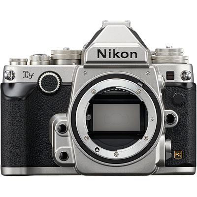 Nikon Df Digital SLR Camera Body - Silver (EX-Display)