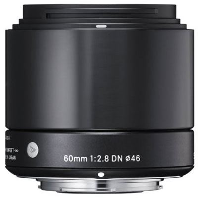 Sigma 60mm f2.8 DN Lens - Sony Fit - Black