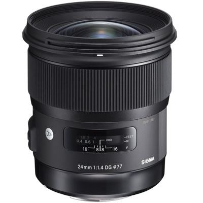 Sigma 24mm f1.4 DG HSM Art Lens - Nikon Fit