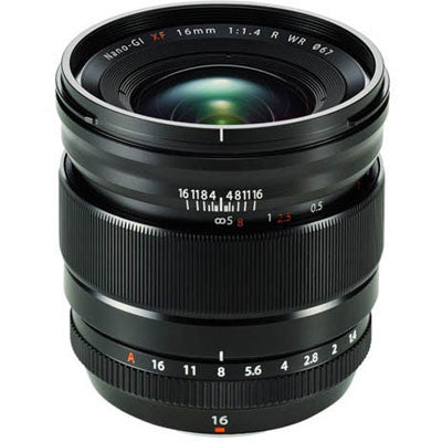 FUJINON LENS XF 16 mm F1.4 R WR - Cambrian Photography