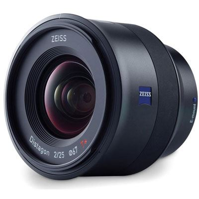 The Zeiss 25mm f2 Batis lens is designed for Sony's alpha range of full-frame E-mount mirrorless system cameras. Cambrian Photography, Colwyn Bay, North Wales.