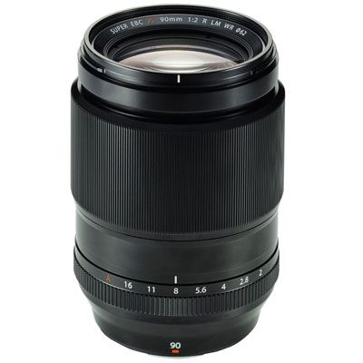 Fujifilm 90mm f2 R LM WR XF Lens - Open Box