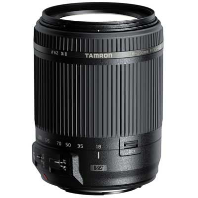 Tamron 18-200mm f3.5-6.3 Di II VC Lens - Canon Fit