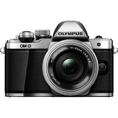 Olympus OM-D E-M10 Mark II Digital Camera with 14-42mm Lens - Silver