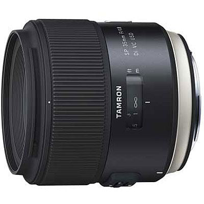 Tamron 35mm f1.8 SP Di VC USD Lens - Canon Fit