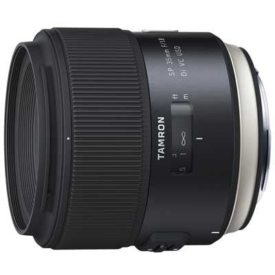 Tamron 35mm f1.8 SP Di VC USD Lens - Nikon Fit