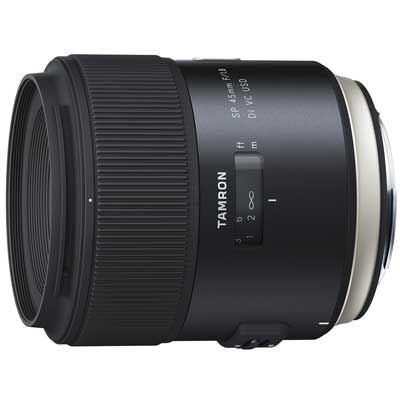 Tamron 45mm f1.8 SP Di VC USD Lens - Canon Fit