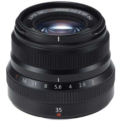 Fujinon XF35 mm f2 R WR - Black - Cambrian Photography
