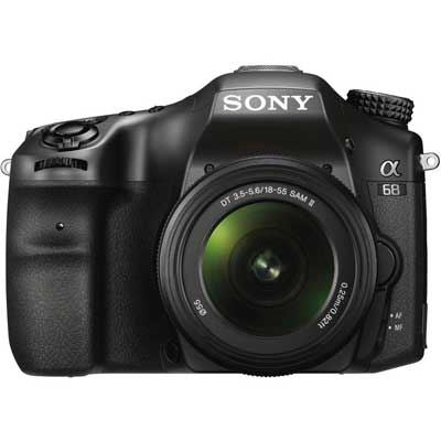 Sony Alpha 68 Digital SLT Camera with 18-55mm Lens