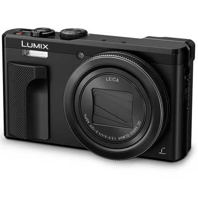 Panasonic LUMIX DMC-TZ80 Digital Camera - Black
