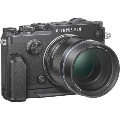 Olympus PEN-F with 17mm ED Lens Black/Black