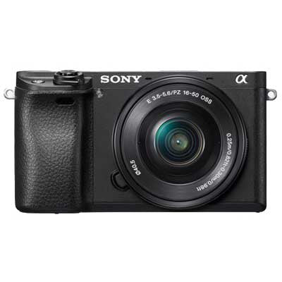Sony A6300 Mirrorless Camera Body - Black