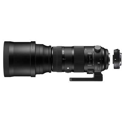 Sigma 150-600mm f5-6.3 Sport DG OS HSM Lens with 1.4x Teleconverter - Canon EF Mount