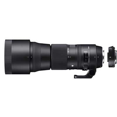 Sigma 150-600mm f5-6.3 Contemporary DG OS HSM Lens with 1.4x Teleconverter - Canon Fit