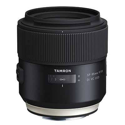 Tamron 85mm f1.8 SP Di VC USD Lens  - Canon EF Mount