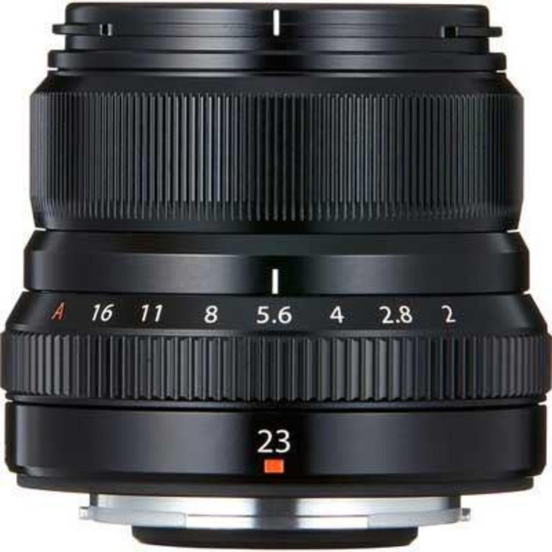 Fujifilm 23mm f2 R WR Lens - Black