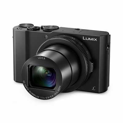 Panasonic Lumix DMC-LX15 Digital Camera - Black - Cambrian Photography - 1