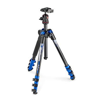 Manfrotto BeFree Aluminium Travel Tripod with Ball Head - BLUE