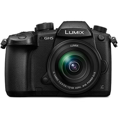 Panasonic Lumix GH5 Digital Camera with 12-60mm f3.5-5.6 Lens