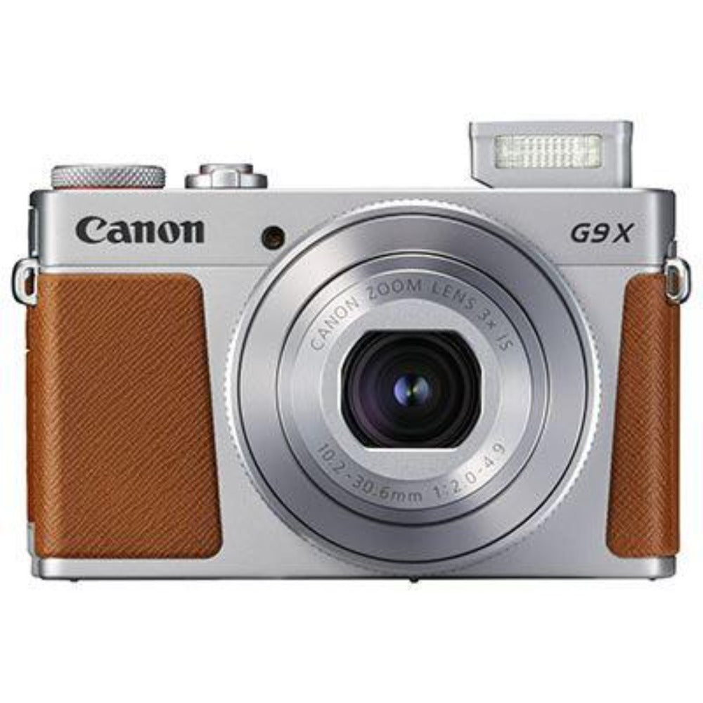 Canon PowerShot G9 X Mark II Digital Compact Camera - Silver