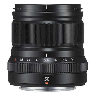 Fujifilm 50mm f2 R WR Lens - Black