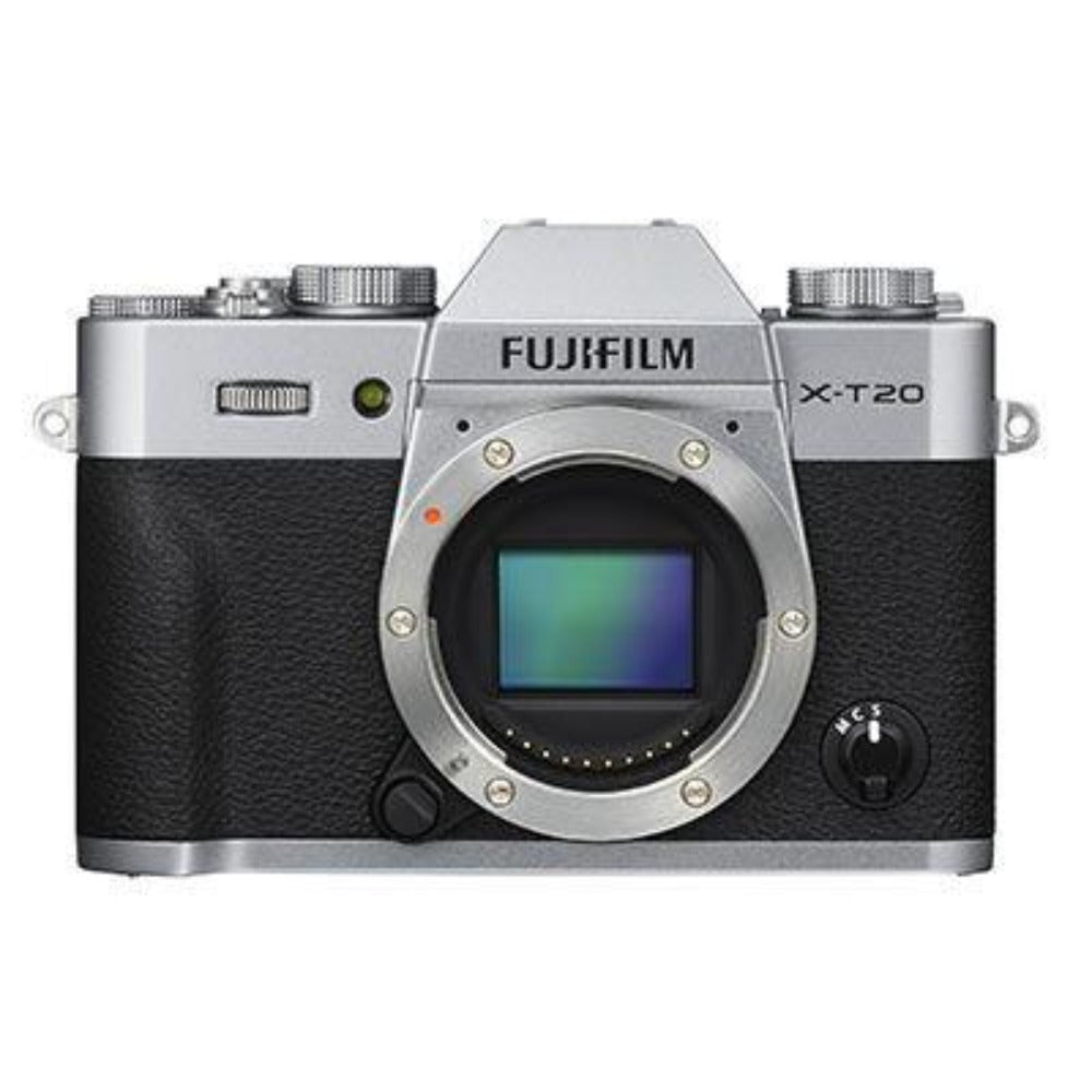 Fujifilm X-T20 Digital Camera Body - Silver