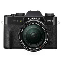 Fujifilm X-T20 Digital Camera with XF 18-55mm Lens - Black