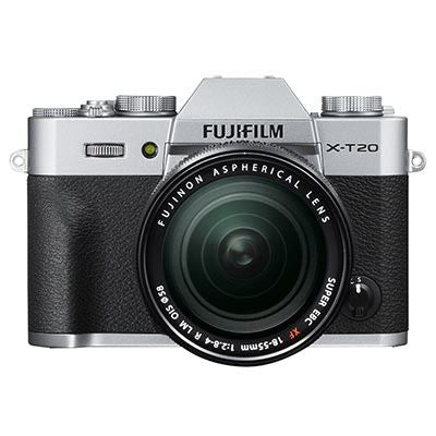 Fujifilm X-T20 with 18-55mm Lens – Silver