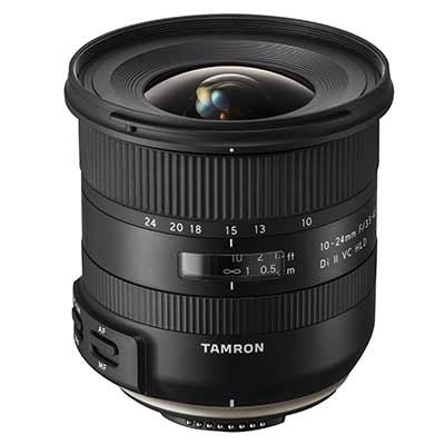 Tamron 10-24mm f3.5-4.5 Di II VC HLD Lens - Canon Fit