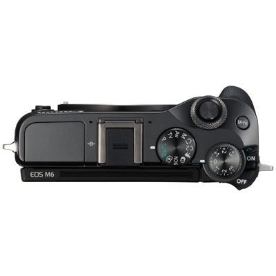 Canon EOS M6 Digital Camera Body - Black