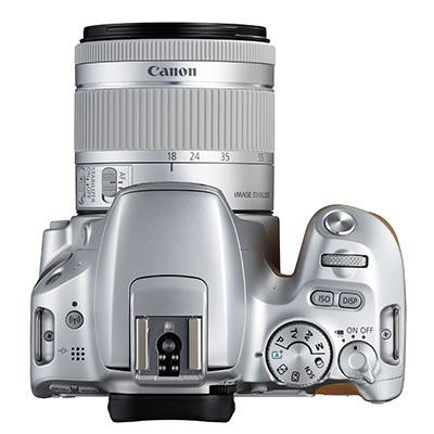 Canon EOS 200D Digital SLR Camera with 18-55mm IS STM Lens - Silver