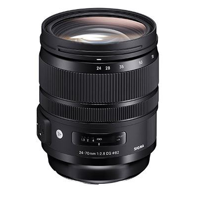 Sigma 24-70mm F2.8 DG OS HSM Art Lens - Nikon Fit