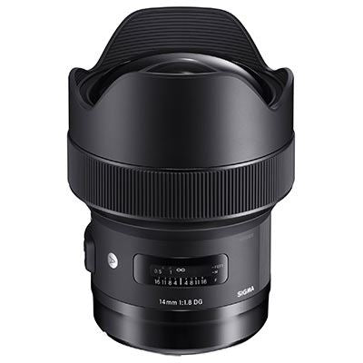 Sigma 14mm F1.8 DG HSM Art Lens - Canon Fit
