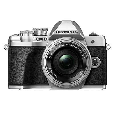 Olympus OM-D E-M10 Mark III Digital Camera with 14-42mm EZ Lens - Silver
