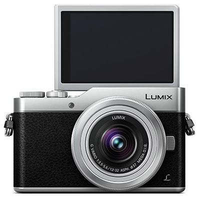 Panasonic Lumix DMC-GX800 Digital Camera Silver with 12-32mm Lens
