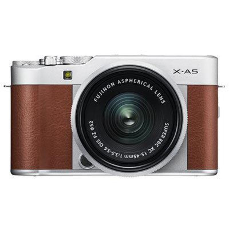 Fujifilm X-A5 Digital Camera with XC 15-45mm Lens - Brown