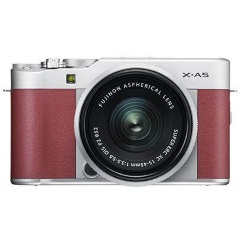 Fujifilm X-A5 Digital Camera with XC 15-45mm Lens - Pink