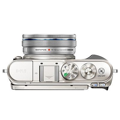 Olympus Pen E-PL9 Digital Camera with 14-42mm Lens – White
