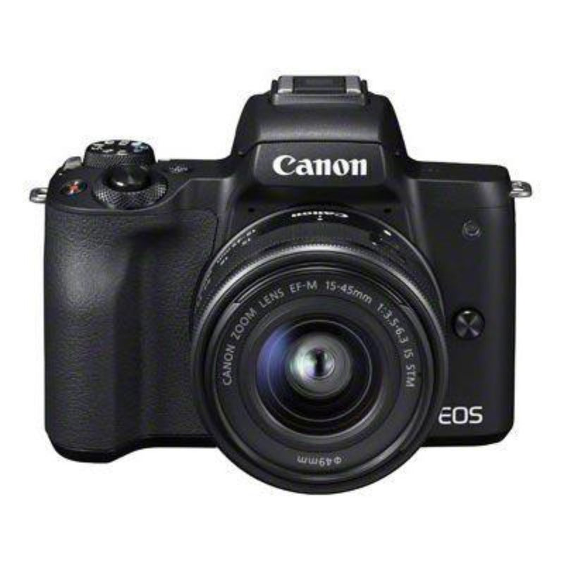 Canon EOS M50 Digital Camera with EF-M 15-45mm Lens Kit - Black