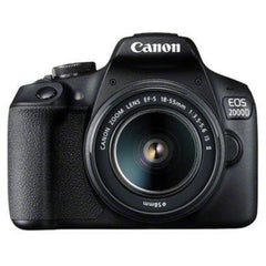 Canon EOS 2000D Digital SLR with 18-55mm IS II Lens - Black