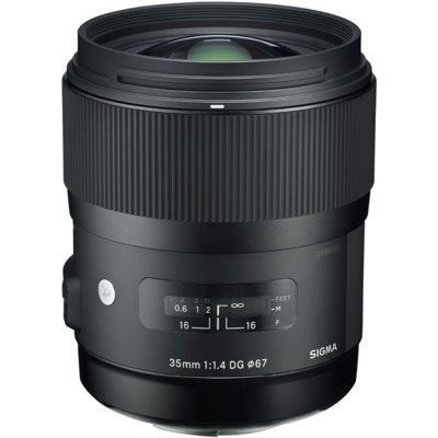 Sigma 35mm f1.4 DG HSM Art Lens - Sony E Fit
