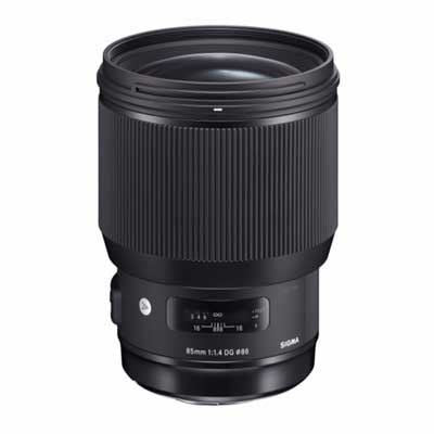 Sigma 85mm f1.4 Art DG HSM Lens - Sony E Fit