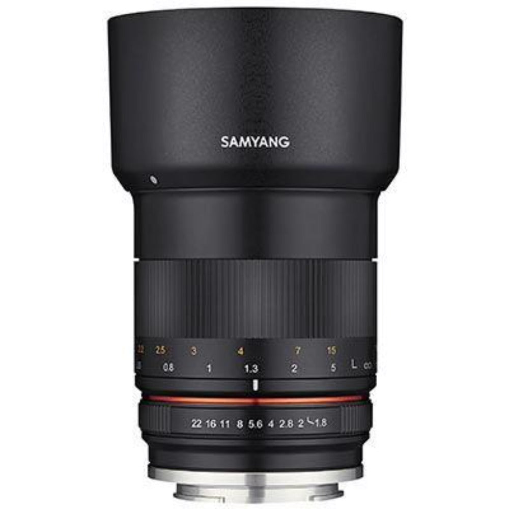 Samyang 85mm F1.8 MF Lens - Micro Four Thirds Fit
